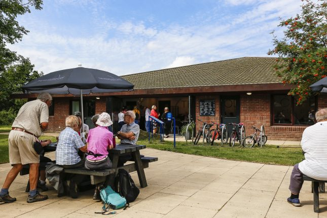 Woodland Cafe at Anglers Country Park