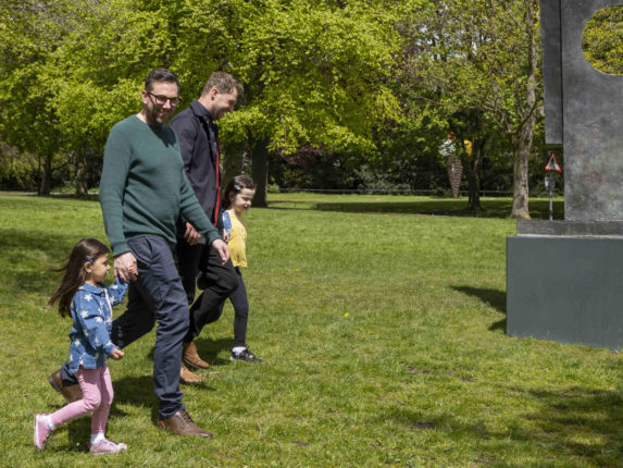 Friday Playful Family Sculpture and Nature Walks