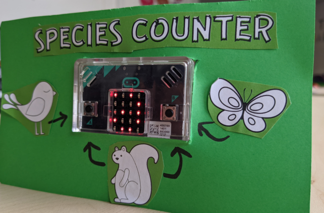 Micro:bits - Coding Animal Counters - Ages 8 to14