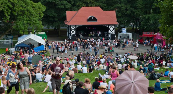 Clarence Aftershock Festival
