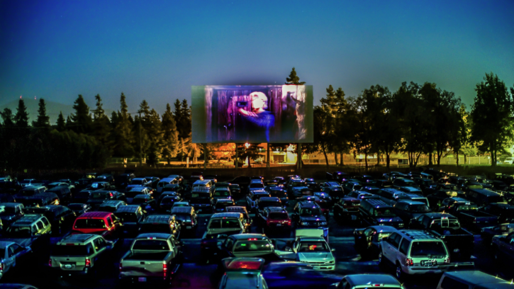 Halloween Drive-Thru Cinema at Farmer Copleys