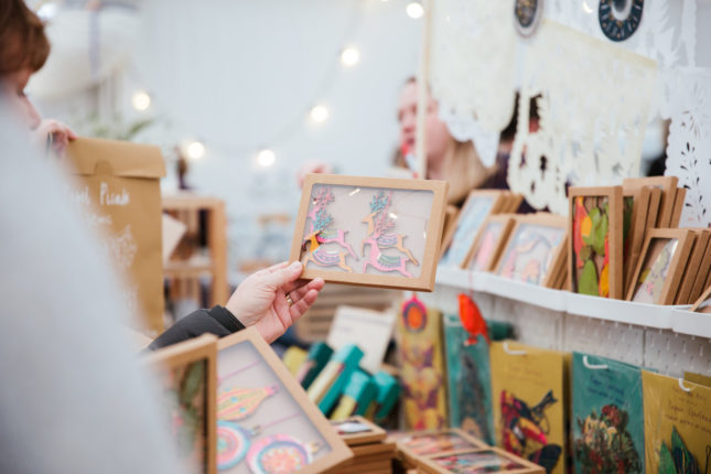 The Hepworth Wakefield's Festive Mini Market - First Weekend